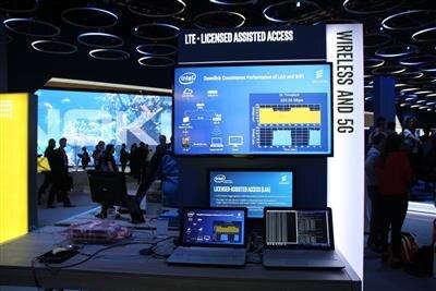 MWC 2016 4G Intel