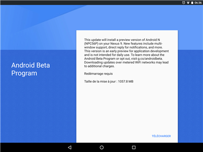 Android N Beta Program