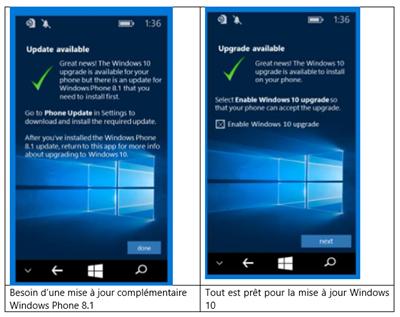 Windows 10 Mobile migration