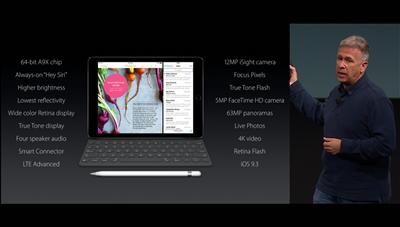 Apple conférence 21 mars iPad Pro