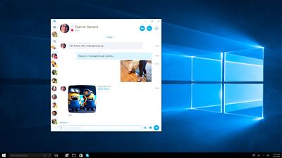 skype uwp windows 10