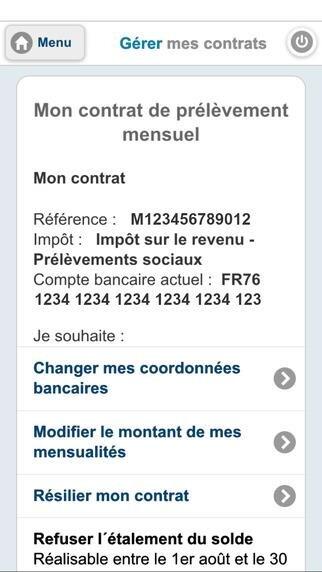Impots.gouv iOS