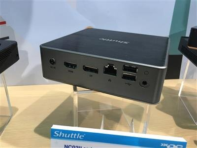 Shuttle NC02U NS02A Computex 2016