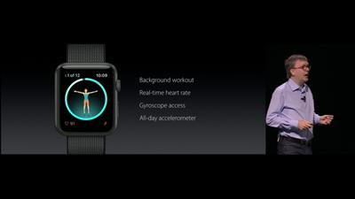 watchOS dev fitness apps Apple WWDC