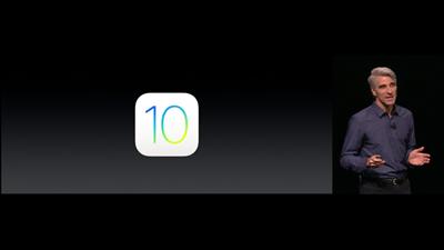 iOS 10 WWDC Apple
