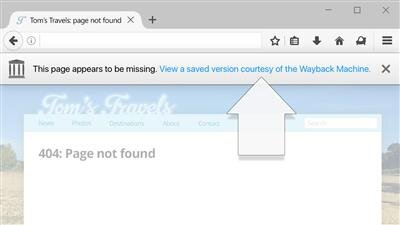 No More 404s Firefox