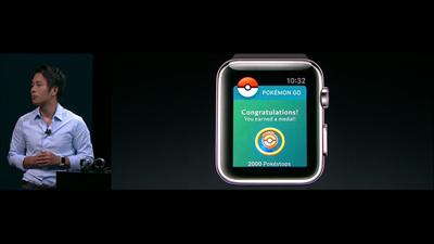 Pokémon Go Watch Apple