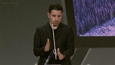 Surface Studio Microsoft conférence