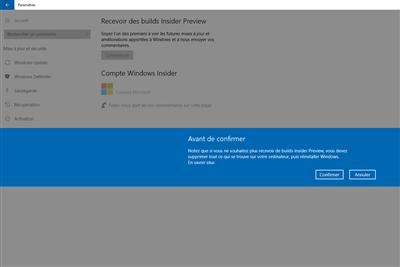 Microsoft Windows Insider Preview Hub