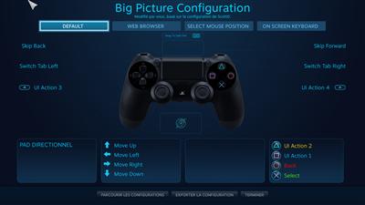 DualShock 4 Steam