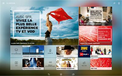 Zive SFR Play VOD Illimitée