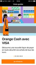 Orange Cash Apple Pay