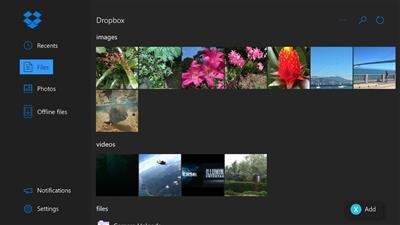 Dropbox Xbox One