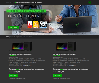 Razer Core Shop