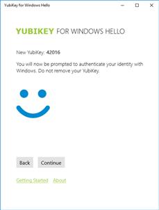 Yubikey Windows 10 Hello