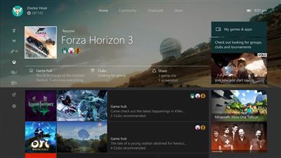 Xbox Creators Update