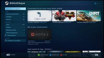 Steam Big Picture NVIDIA Games