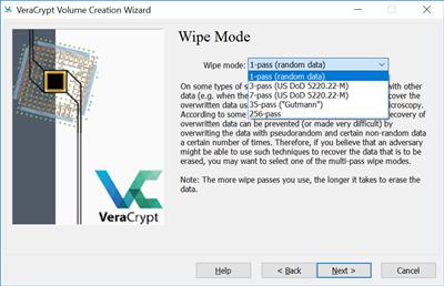 VeraCrypt OS caché