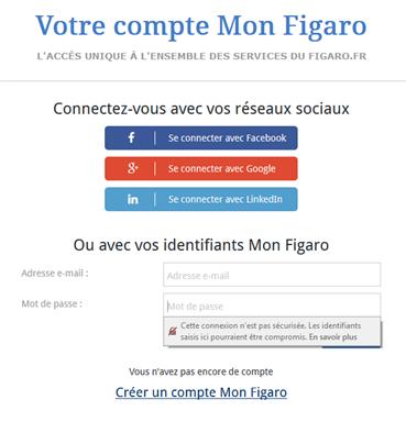 Sites non HTTP Firefox 52