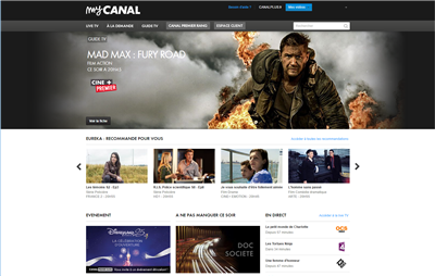 MyCanal Web 2017