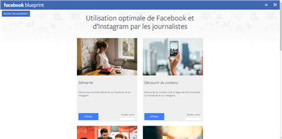 Facebook Certificat formation 1