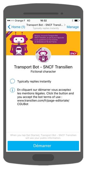 ChatBot SNCF