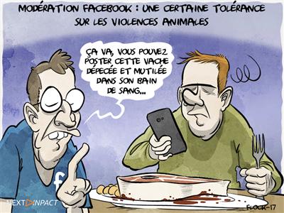Le guide de Facebook pour modérer les contenus des internautes