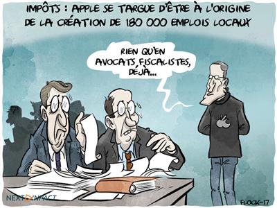 Nouveau redressement fiscal en France pour Apple