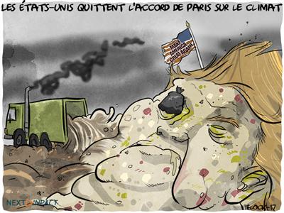 Les États-Unis quittent l'accord de Paris sur le climat, sous les critiques de la Silicon Valley