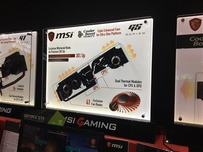 MSI Computex portable GS63VR