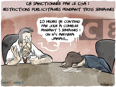C8 sanctionnée par le CSA, Touche Pas à Mon Poste sans pub pendant trois semaines