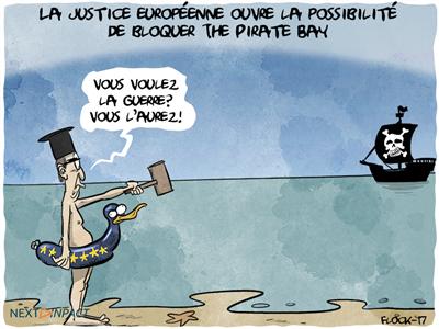 La justice européenne ouvre la possibilité de bloquer The Pirate Bay