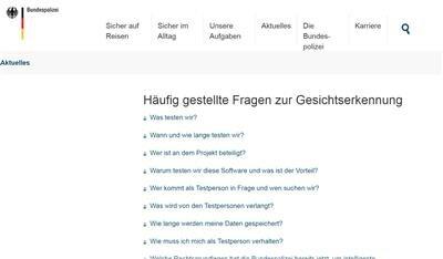 police allemande vidéosurveillance