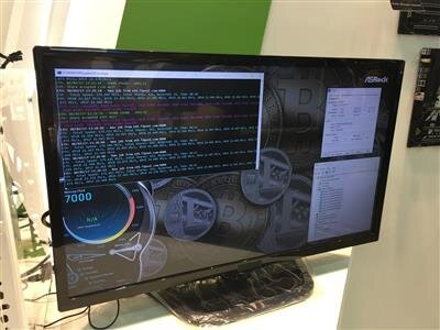 Computex Bitcoin ASRock