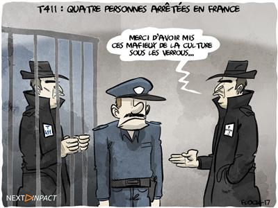 T411 : quatre personnes arrêtées en France, l'ALPA évoque un milliard d'euros de préjudice
