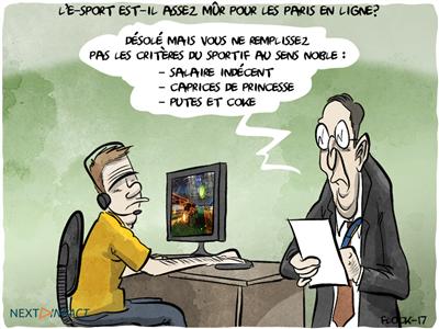 L'e-sport est-il assez mûr pour les paris en ligne ?