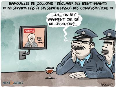 Gérard Collomb : déclarer ses identifiants « ne servira pas à la surveillance des conversations »