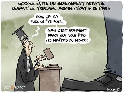 Google évite un redressement monstre devant le tribunal administratif de Paris