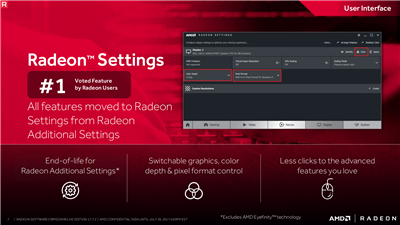 AMD Radeon Crimson Relive 17.7.2 Unification