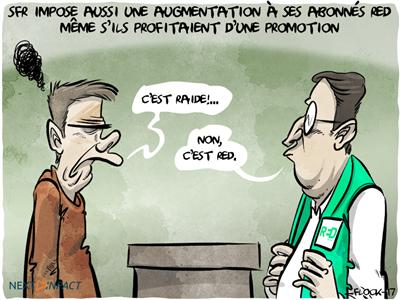 RED by SFR : vous pourrez refuser l'ajout du Boost data payant dès demain