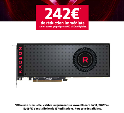 Promo AMD Vega LDLC