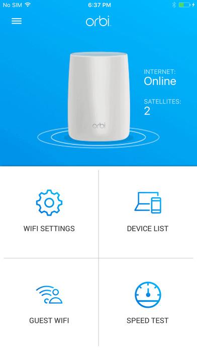Netgear Orbi iOS