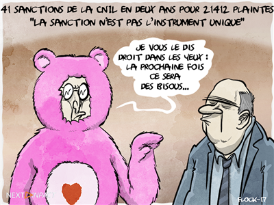 41 sanctions prononcées par la CNIL entre 2014 et 2016