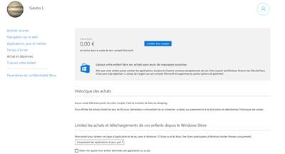 Windows 10 contrôle parental