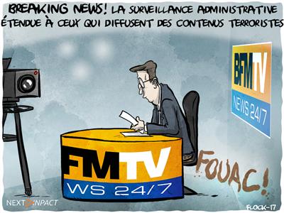 La surveillance administrative étendue à ceux qui diffusent des contenus terroristes