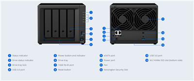 NAS Synology DS918+