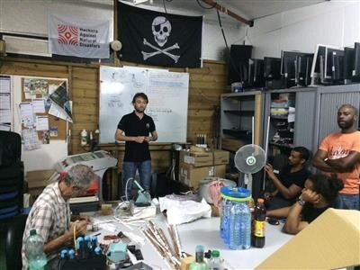 HAND Hackers Against Natural Disasters