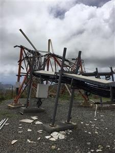 Équipements de Dauphin Télécom au Pic Paradis