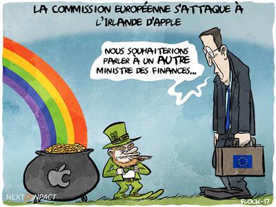 La Commission européenne s'attaque au Luxembourg d'Amazon et à l'Irlande d'Apple