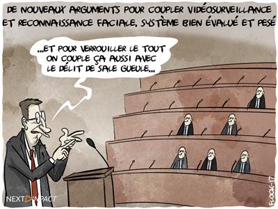 À l'Assemblée, de nouveaux arguments pour coupler vidéosurveillance et reconnaissance faciale